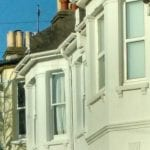 Terraced houses in Brighton